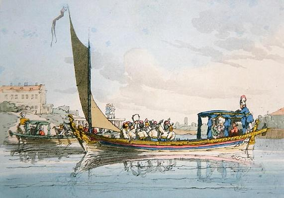 Pleasure Barges, 1803