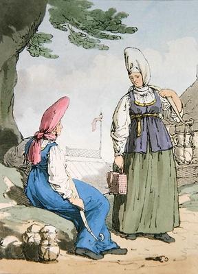 Ocheta Milkcow Woman, 1803