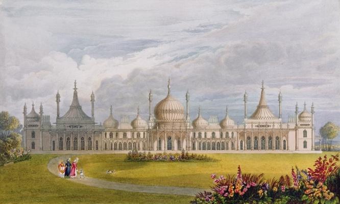 Brighton Royal Pavilion, 19th century