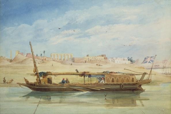 Kanga on the Nile at Luxor