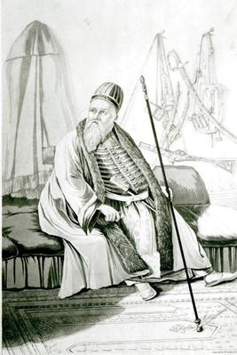 Portrait of Ali Pasha of Yannina, engraved by Robert Havell, 1822