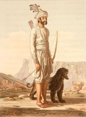 A Meena of Jajgurgh, from 'A Mahratta Camp', 5th April 1813