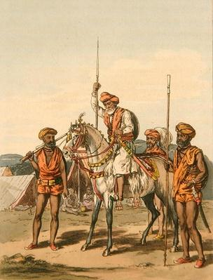 A Muhunt and Gosaeens, from 'A Mahratta Camp', 5th April 1813