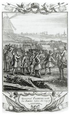 General Fairfax with his forces before the city of Oxford