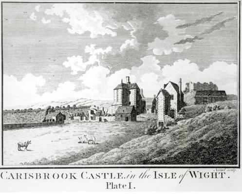 Carisbrook Castle, Isle of Wight, Plate I