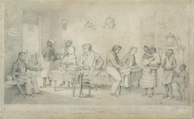 Protector of Slaves Office, Trinidad, c.1833