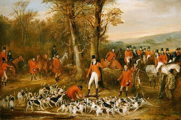 The Berkeley Hunt: The Death, 1842