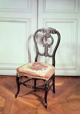 Chair, Second Empire Style