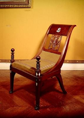 Chair, First Empire Style, 1810