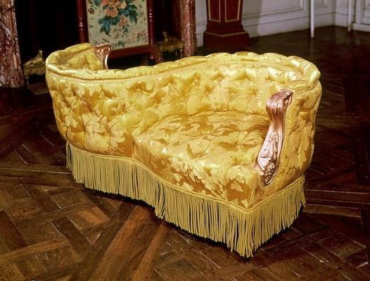 Padded love seat, Napoleon III Period