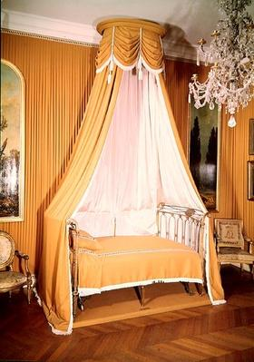 Bed with canopy, c.1790-91