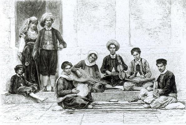 A Jewish Concert, Tlemcen