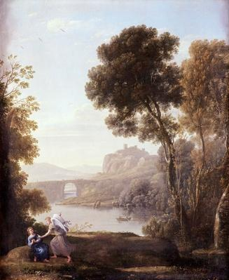 Landscape with Hagar and the Angel, 1646