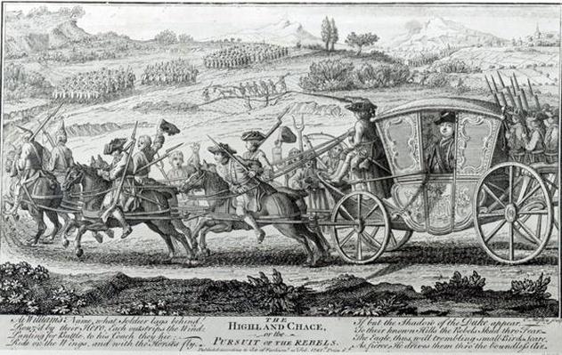 The Highland Chase, 21st February 1745