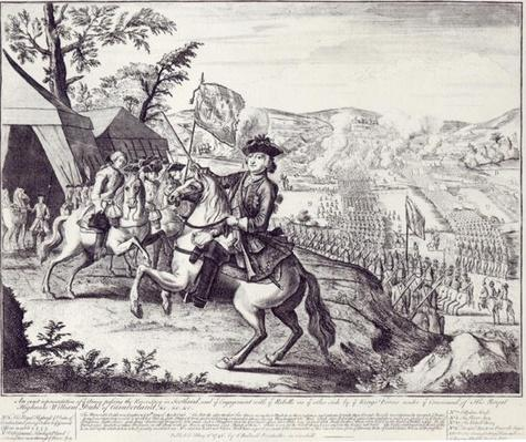 William Duke of Cumberland and the Rebel Forces, 1st May 1746