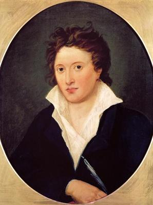 Portrait of Percy Bysshe Shelley, 1819