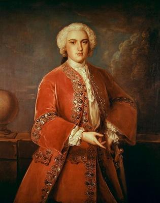 Portrait of John Hall Stevenson, 1741