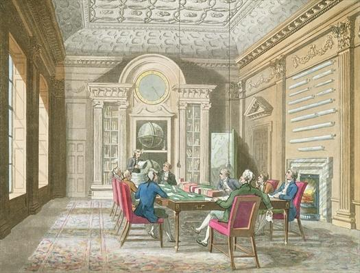 Board Room of The Admiralty, 1808