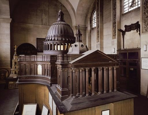 Original Design for St. Paul's Cathedral