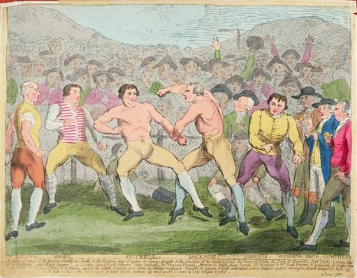 Boxing Match, 10th June 1788