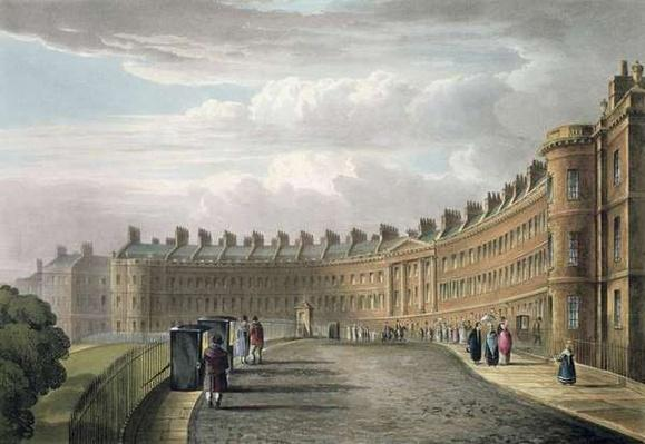 Lansdown Crescent, Bath, 1820