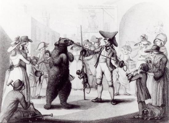 A Dancing Bear, 24th June 1785