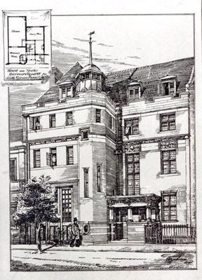 A Sculptors Studio, 1892