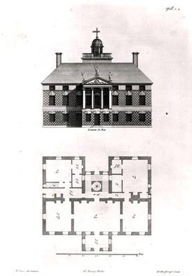 Designs of Inigo Jones, 1727