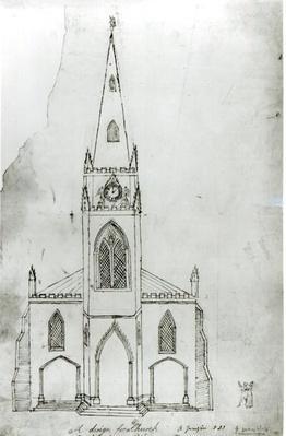 A Design for a Church, 1821