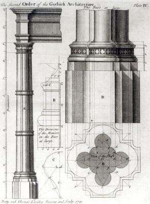The Second Order of Gothic Architecture, 1741