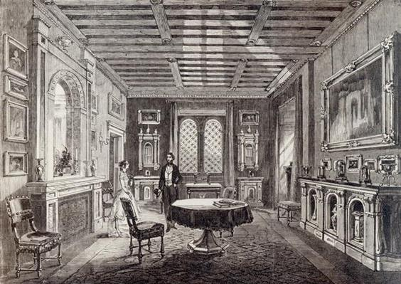 The Crimson Drawing Room, Lansdown Tower