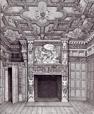 East View of the first floor of Sir Paul Pindar's Bishopsgate Street, 1810