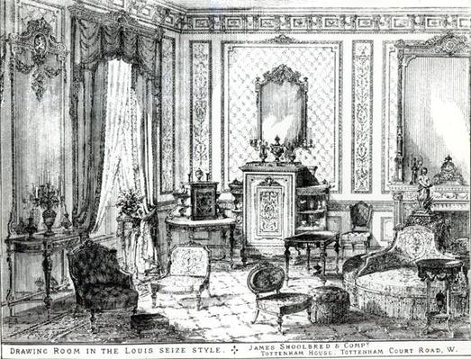 Drawing Room in the Louis Seize Style