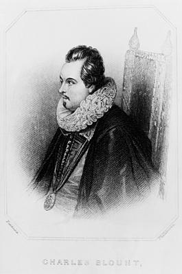 Portrait of Charles Blount