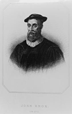 Portrait of John Knox