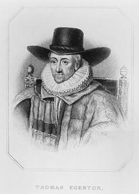 Portrait of Thomas Egerton