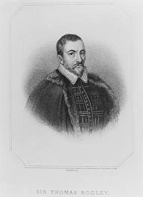 Portrait of Sir Thomas Bodley