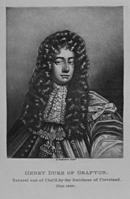 Portrait of Henry Duke of Grafton, from 'Characters Illustrious in British History', by Richard Earlom and Charles Turner, 1815