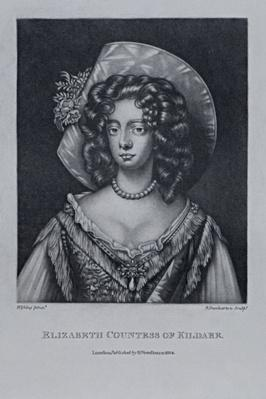 Countess of Kildare, from 'Characters Illustrious in British History', by Richard Earlom and Charles Turner, 1815