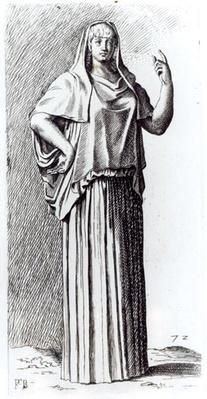 Vestal Virgin, c.1653