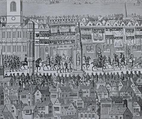 Part of the Coronation Procession of Edward VI, 1547