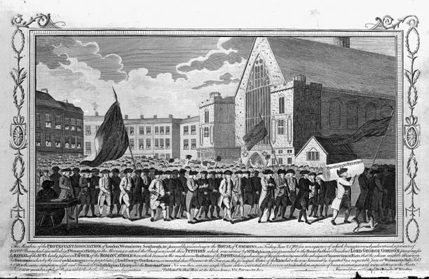 Members of the Protestant Association Petitioning, 1718
