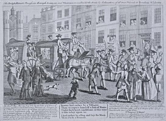 The British Patriots Procession through London and Westminster