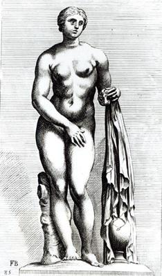 Venus emerging from the bath, c.1653