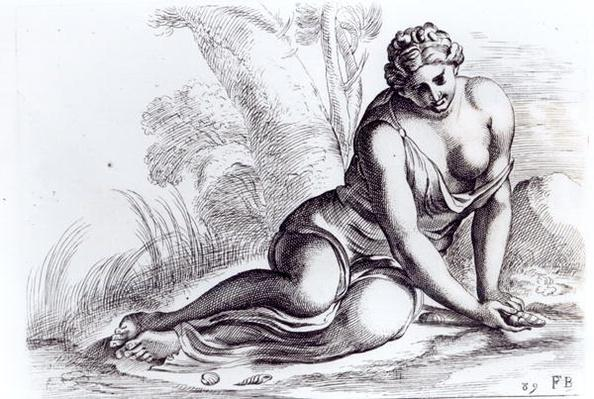 Venus in the Borghese Gardens, c.1653