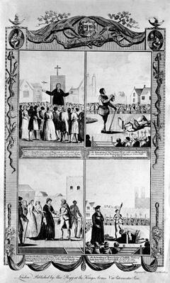 Mr Bourne preaching and the executions of Thomas Wyat
