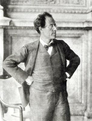 Portrait of Gustav Mahler, 1907