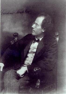 Portrait of Gustav Mahler, c.1907