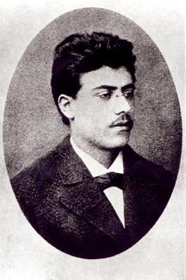 Portrait of Gustav Mahler, 1878