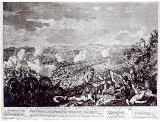 Battle of Lobositz, 1st October 1756